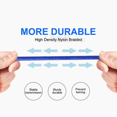 Strong USB Type-C 3.1 USB-C Sync Charger Cable For Samsung Galaxy S8 S9 S10 A70 6