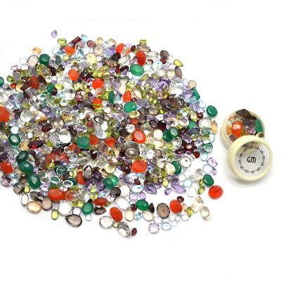 AAA Mixed Gems Semi Precious Loose Natural Gemstones Lots Faceted Cut (MX-60003) 2