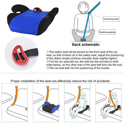 Car Booster Seat Chair Cushion Pad For Toddler Children Child Kids Sturdy 9