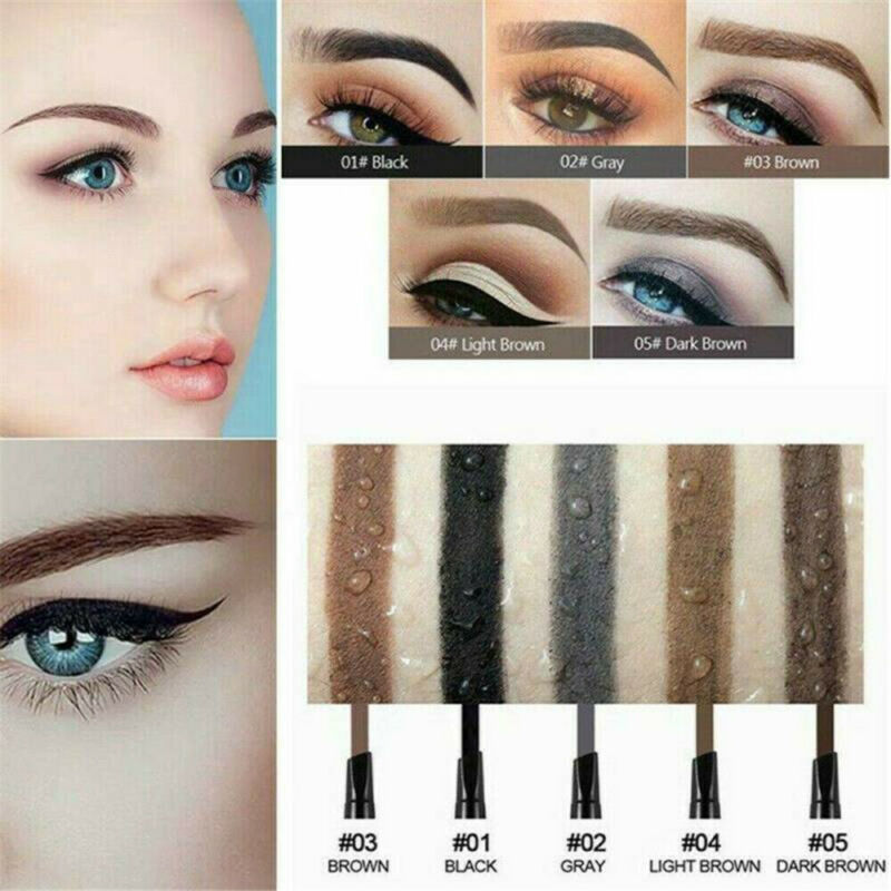 HANDAIYAN Double Heads Eyebrow Pencil Long Lasting Waterproof Makeup Eyebrow Hot 3
