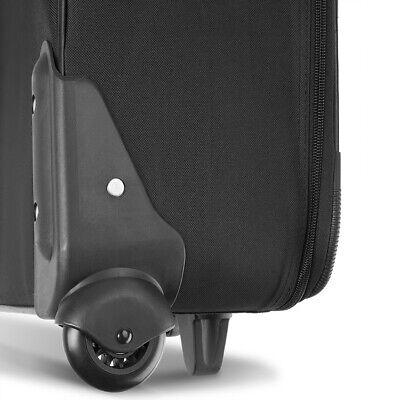 Kofferset Reisekoffer 5 Taschen Trolley Reise Koffer Set Tasche S M L XL schwarz 2