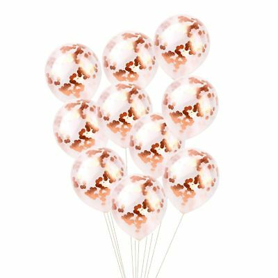 Rose Gold 18/21st/30/40/50 Latex Number Happy Birthday Balloons Party Curtain 7