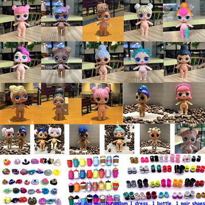 rare Lol Surprise Doll Series 1/2/3/4 Under wraps Big sister toy - 3PCS random 3