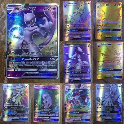 120/200 PCS GX EX MEGA Energy Pokemon Cards Holo Trading Flash Card Bundle UK 2