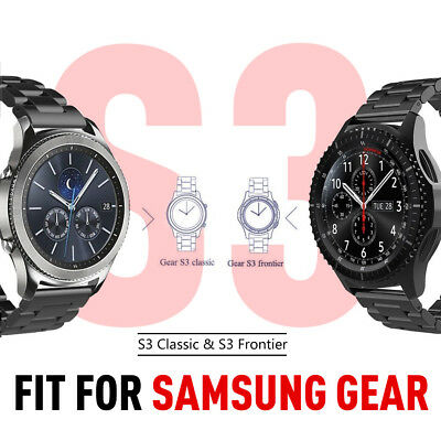 For Samsung Gear S3 Frontier/Classic Stainless Steel Luxury Wristband Band Strap 2
