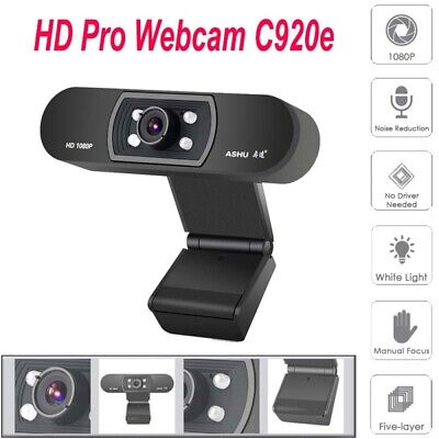Digital USB Web Cam Camera HD 1080P Video Calling Teleconference Camera For PC 2