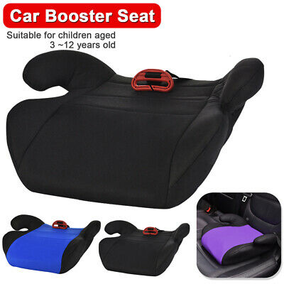 Car Booster Seat Chair Cushion Pad For Toddler Children Kids Sturdy 3-12 years 12