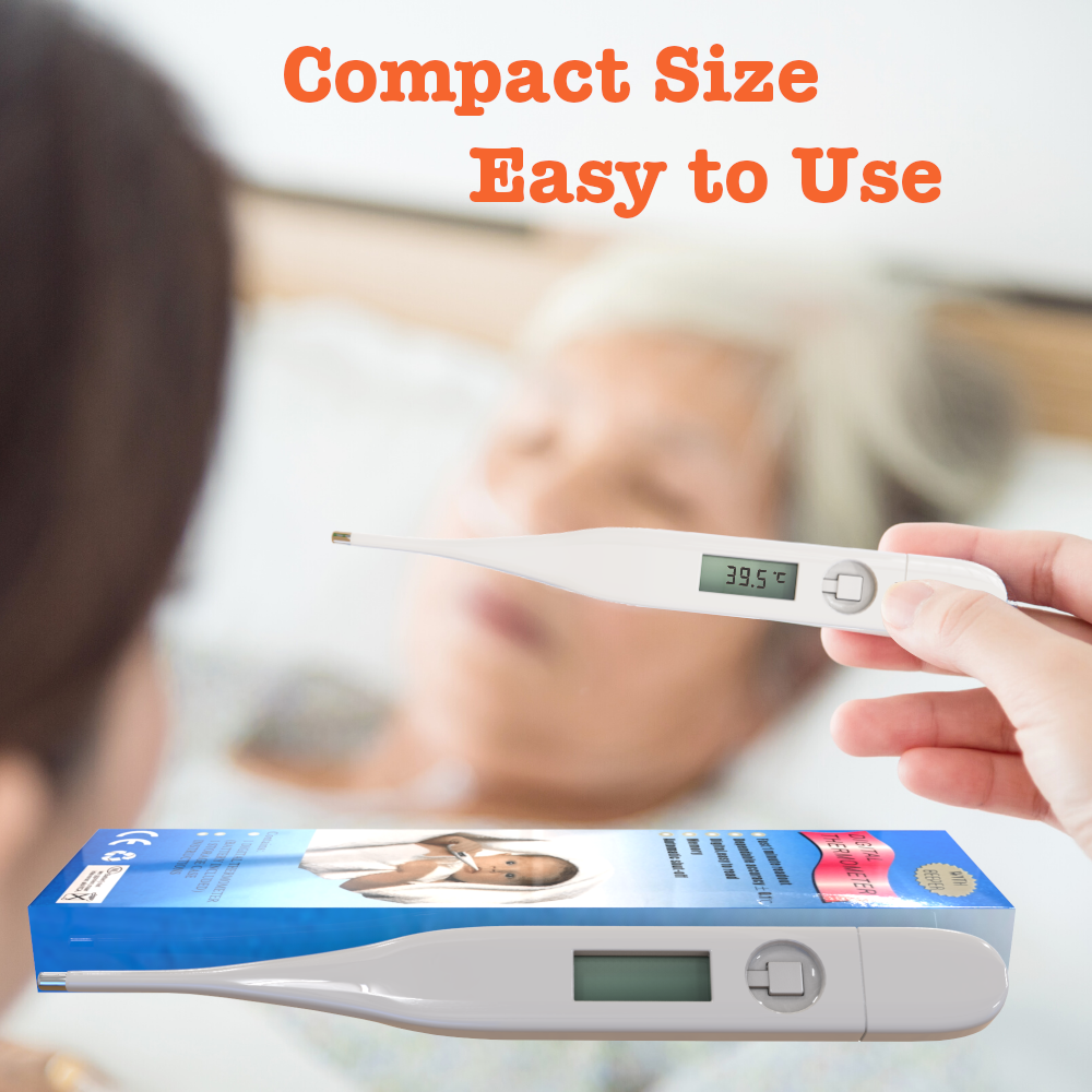 Thermometer for Adults and Kids Digital LCD Baby Body Thermometers for Mouth 2