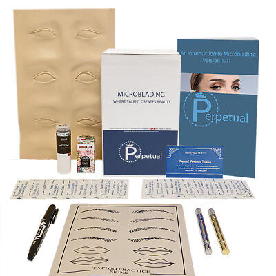 Microblading Starter Kit Permanent Makeup with Doreme Ink Microblades U Choose 2