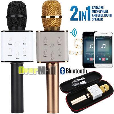 2019 KTV Wireless Karaoke Handheld Microphone USB Player Bluetooth HIFI Speaker