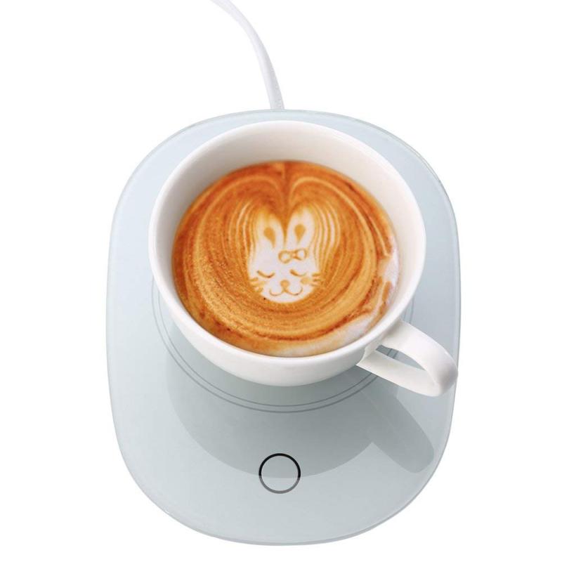 Home Office Coffee Warmer Auto Shut Off Electric Mug Heater Milk Beverage Warmer