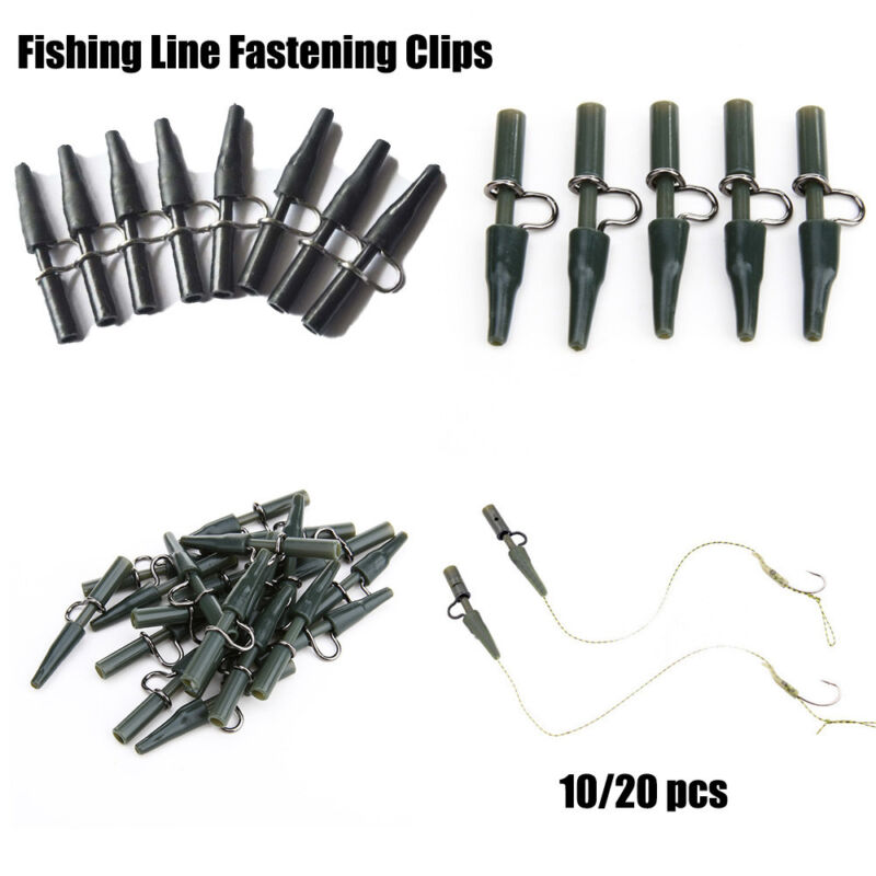 Safety Lead Clips For Fishing Carp Winter Ice Fish Tackle Equipment Line 10/20PC