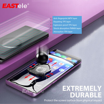 EASTele Samsung Galaxy S10 5G S9 S8 Plus Note 10+ 5G 9 HYDROGEL Screen Protector 9
