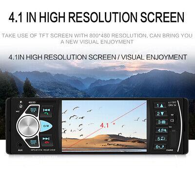 1Din Autoradio Mit Bildschirm Display Video Monitor Bluetooth Freisprech Usb Sd 8