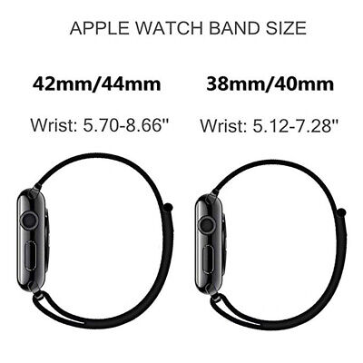 Sport Loop Band Nylon Strap For Apple Watch Series 4 3 2 1 42mm 38mm 44mm 40mm 5
