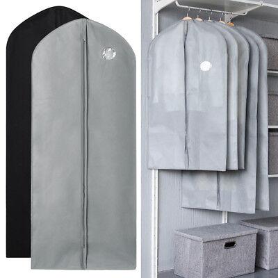 1/5/10Pcs Garment Suit Bag Dress Clothes Coat Cover Breathable Protector Storage 2