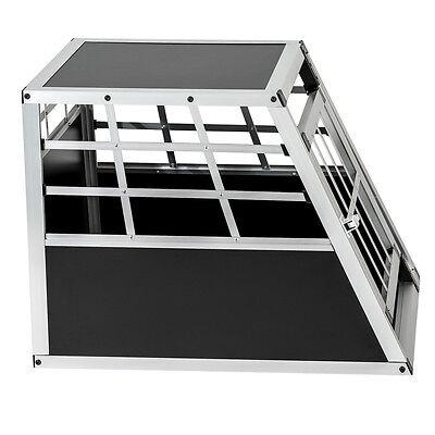 Cage box caisse de transport chien mobile aluminium single 4
