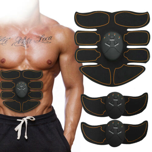 Ultimate EMS AB & Arms Muscle Simulator ABS Training Home Abdominal Trainer Set# 7
