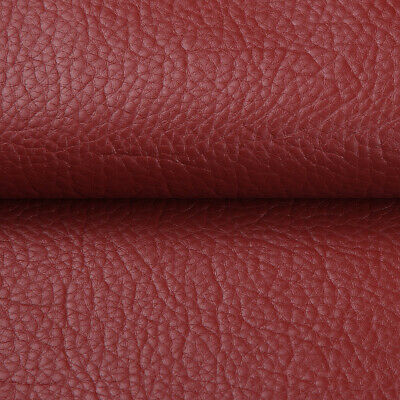 """Vinyl Faux Leather Fabric Litchi Pleather Upholstery Fabric 54"""" Wide By the Yard 4"""