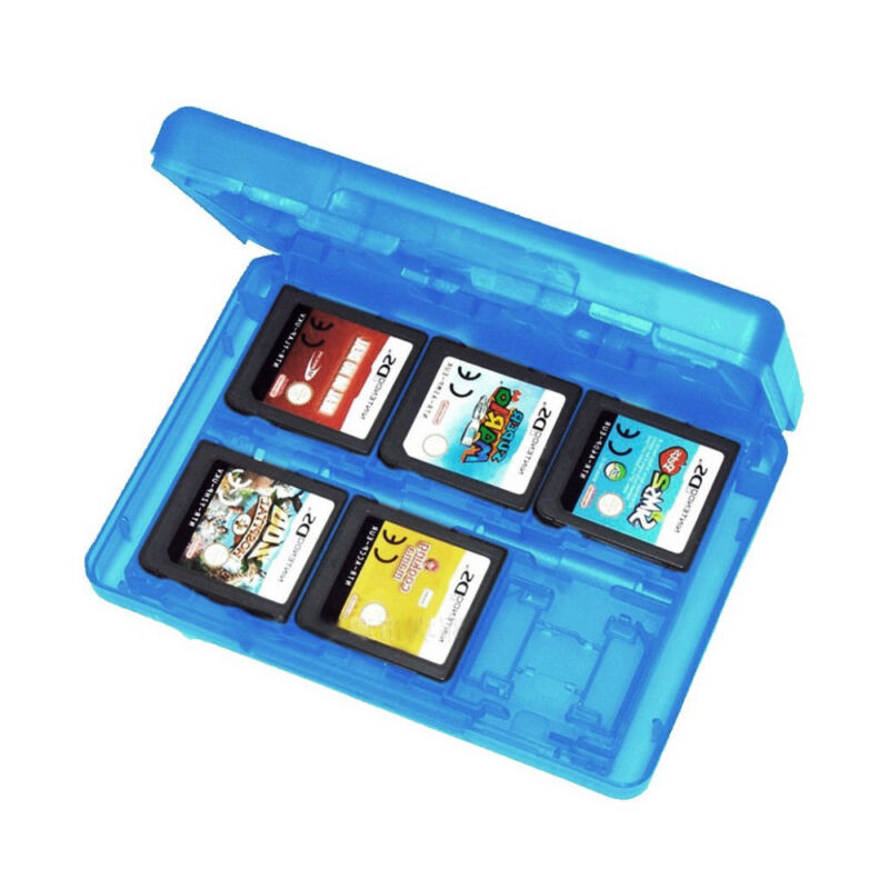 24DS Game Card Case Holder Cartridge Storage Box for Nintendo 3DS 3 colors 2