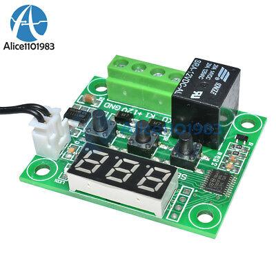 DC12V Red W1209 Digital thermostat Temperature Controler -50-110°C  + Sensor 10