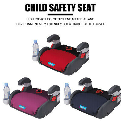 Car Booster Seat Chair Cushion Pad For Toddler Children Kids 3-12 Years Sturdy 9