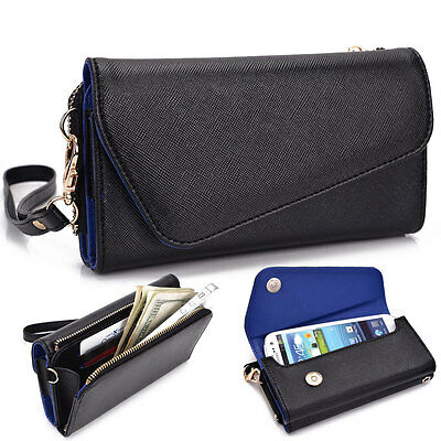 ... Fad Bicast Leather Protective Wallet Case Clutch Cover for Smart-Phones MLUB19 2
