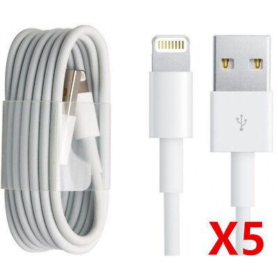 CABLE CHARGEUR USB 1 et 2 METRES IPHONE 6 6S 7 8 Plus XR X XS Max 11 Pro 5S SYNC 7