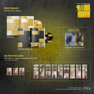 [STRAY KIDS] Special Album / Cle 2 : Yellow Wood / New, Sealed / Pre-order Gifts 3