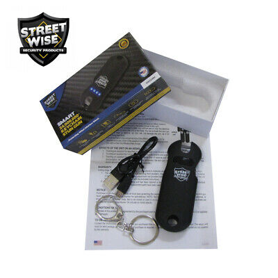 Streetwise SMART Keychain Stun Gun 24,000,000 w/Battery Status Indicator - Black 3