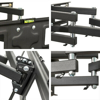 """Support TV mural orientable et inclinable 26""""-55"""" 66-138cm 32 40 42 46 50 52 55 3"""