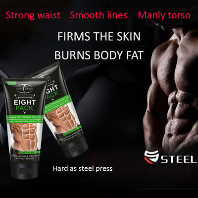Aichun Eight Pack For Men Cream Strong Waist Torso Smooth Lines Press Belly 170g 3
