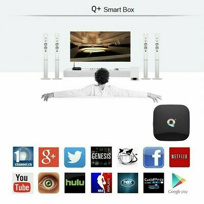 Smart Tv Box Q-Plus Android Pie 9.0 4Gb Ram 64Gb 6K Wifi Dazn New 6