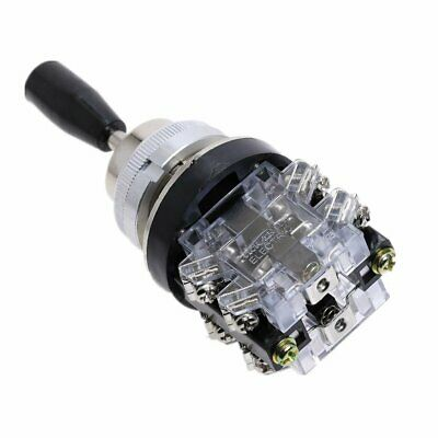 AC 380V 15A 4 Position 8 Terminals Latching Joystick Lever Switch HKA1-41 4
