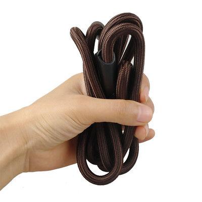 Nylon Rope Slip Dog Lead 5ft Pet Collar Training Show Leash Red Black Blue Brown 9