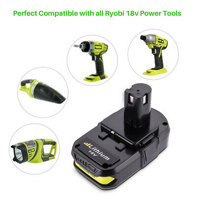 For RYOBI P107 2.5Ah 18V battery ONE+ MAX P104 Lithium P108 P105 P103 P102 P106 10