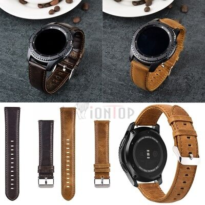 22MM Replacement Leather/Steel/Nylon Wrist Watch Band Strap For Huawei watch GT 9
