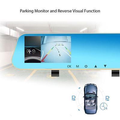 16GB FULL HD in Car Rear View Mirror CCTV Security Dual Camera Recorder DASH CAM 5