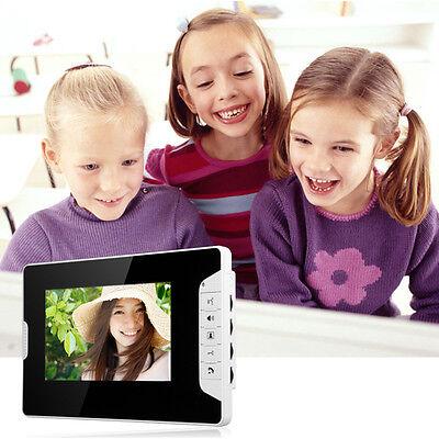"""Video Gegensprechanlage Türsprechanlage Kamera 2x 7""""Monitor Klingel Sprechanlage 5"""