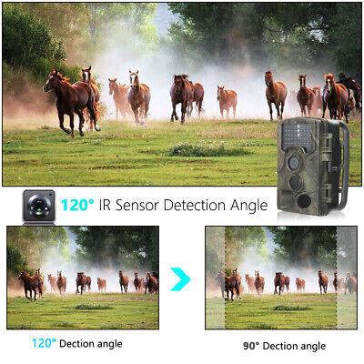 UK 16MP Hunting Trail Camera HD 1080P Wildlife Scouting Cam Night Vision IP65 3
