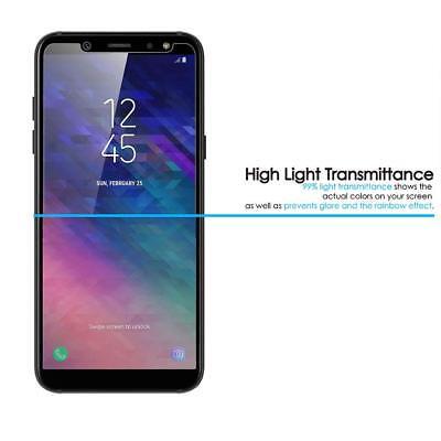 Transparente coque Samsung Galaxy A6/A6Plus 2018+ Verre trempé écran protecteur 3