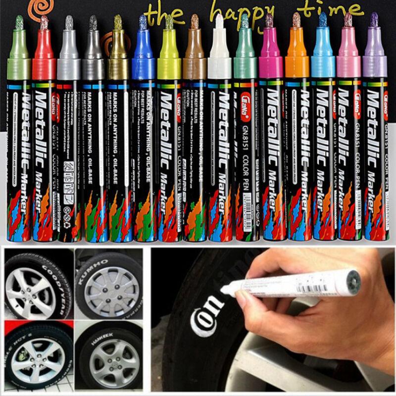 New Waterproof Permanent Tyre Paint Pen Car Motorcycle Bike Creative Marker~ 2