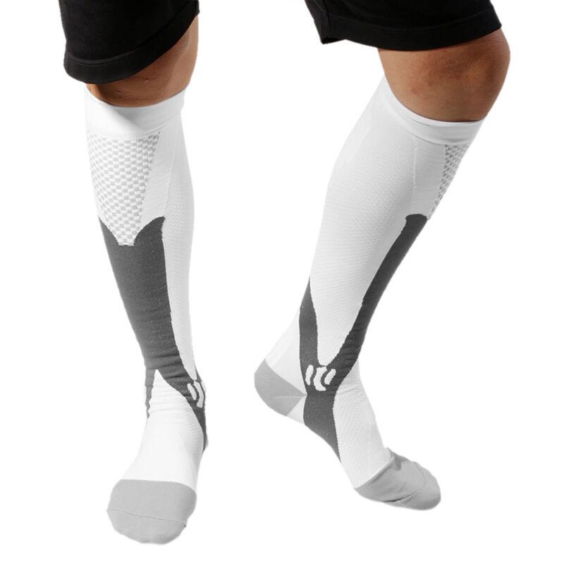 Compression Socks Medical Travel Stockings Running Flight Sleeve Anti Fatigue Bm 12