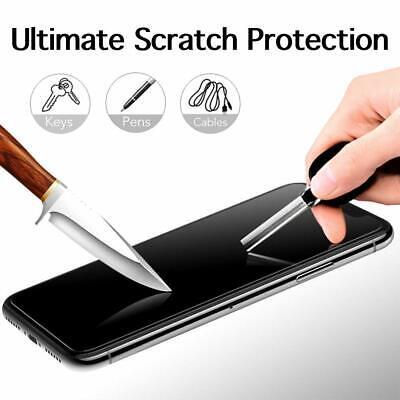 vitre verre trempe film de protection iPhone 11/11 Pro Max/XS/XR/X 8 7 6 LOT/5 7