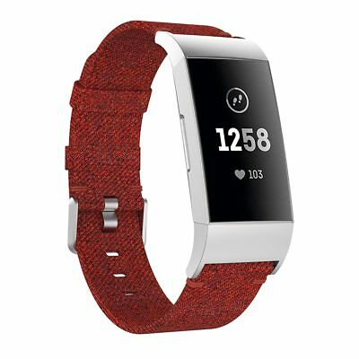 Fitbit Charge 2 3 Armband Edelstahl Ersatzband Nylon Milanese Sport Leder Watch 9