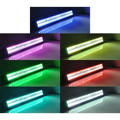 22 led work light bar with rgb halo 4x 3 cree cube pods off road 9 of 12 22 led work light bar with rgb halo 4x 3 cree cube pods mozeypictures Image collections