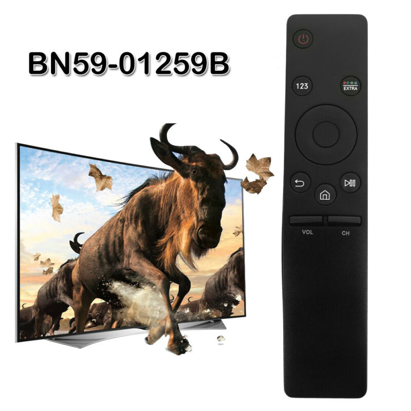 4K TV HD Smart Remote Control For SAMSUNG 6 7 8 9Series BN59-01259B/01260A Black 2