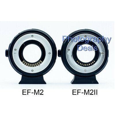 Viltrox EF-M2 II AF Adapter Focal Reducer Booster For Canon EF Lens to M43 MFT 11