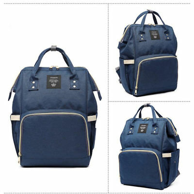 LEQUEEN Multifunctional Bag Nappy Diaper Mummy Capacity Baby Backpack Waterproof 11