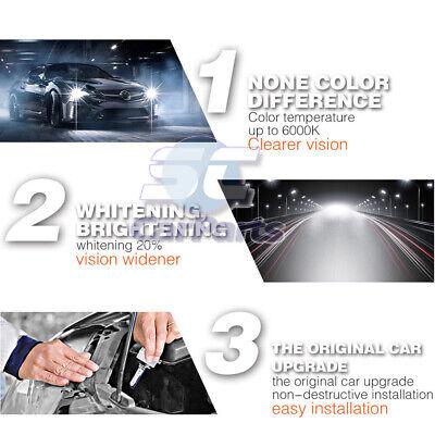 2x 35W D1S Ampoule HID Blanc Pur Xenon Aluminium Phare Cob Voiture 6000K Kit 12V 8